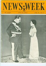 NEWSWEEK   GENERAL GOERING QUEEN OF SIAM NRA FORD RUTH 700TH JULY 21 1934