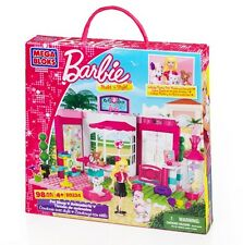 MEGA BLOKs SET 80224 Barbie Build n Style Pet shop poodle cat dog animal