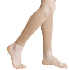 Slim Leg Compression Sports Support Calf Stretch Sleeve Varicose Vein Socks Pair