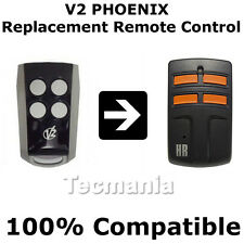V2 Phoenix Replacement Remote Control Garage Gate Transmitter Rolling Code Fob