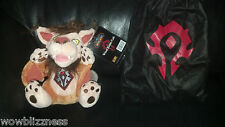 WoW World of Warcraft WINDRIDER CUB with bag  *UNSCRATCHED CODE* Blizzcon 2008