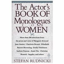 The Actor's Book of Monologues for Women - LikeNew - Various - Paperback