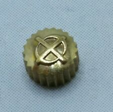 Zodiac Yellow Crown 8b signed 4 mm New Old Stock Watch Part o16