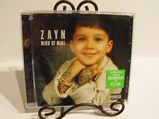 Mind of Mine by Zayn Malik of One Direction CD 2016 includes Pillowtalk NEW!