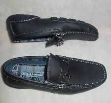 FERRERA COUTURE Italian collection mens Loafers Slip Ons black new sz 7.5