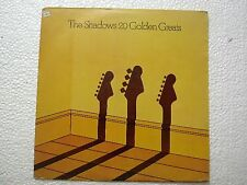 THE SHADOWS THE SHADOWS 20 GOLDEN GREATS RARE LP record vinyl INDIA INDIAN