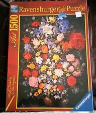 """NEW Jigsaw Puzzle 1500pc """"Bouquet"""" ART by Ravensburger"""