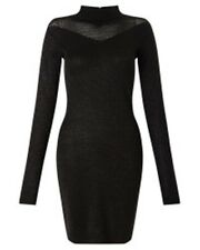 SuperTrash Women's Black Darika Dress Size Large RRP-£110