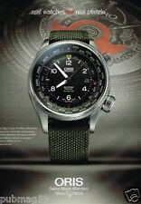 Publicité advertising 2014 La Montre Oris Big Brown Crown ProPilot
