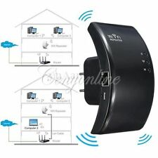 2.4GHz 300Mbps Wireless Wifi Ripetitore Router Booster Range Extender LAN Rete