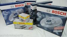GENUINE Bosch brake pad & disc brake Rotors FRONT REAR SET Ford Falcon BA BF FG
