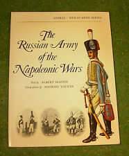 OSPREY MILITARY MEN AT WAR SERIES THE RUSSIAN ARMY OF THE NAPOLEONIC WARS