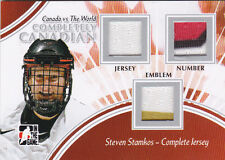 11-12 ITG Steven Stamkos /9 Complete Jersey Canada vs The World 2011