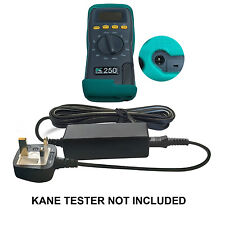 DC Adaptor Power Supply for Kane 250, 425, 450, 455 combustion flue gas analyser