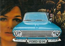 Ford Taunus 12M 1969-70 Swiss Market Sales Brochure Limousine Coupe Stationwagon