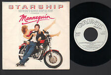 "7"" STARSHIP NOTHING'S GONNA STOP US NOW / LAYIN' IT ON THE LINE ITALY PROMO 1987"