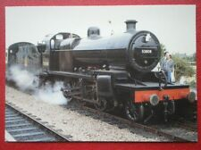 POSTCARD SOMERSET & DORSET LOCO NO 53808 AT WILLTON STATION
