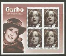 Sweden 2005 Greta Garbo/Actress ss--Attractive Topical (2517d) MNH
