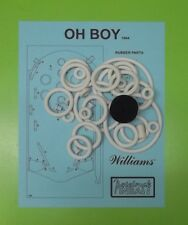 1964 Williams Oh Boy pinball rubber ring kit