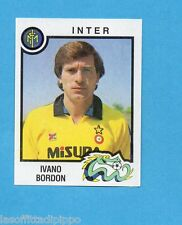PANINI CALCIATORI 1982/83 -Figurina n.134- BORDON - INTER -Rec
