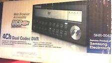 New open box Samsung 4CH Dual Codec DVR Samsung SHR-5042DN  Samsung DVR