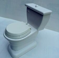 Toilet / Lavatory, Doll House Miniature Bathroom Furniture, 1.12 Scale
