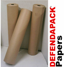 900mmx 215m 88gsm PURE KRAFT BROWN RIBBED PARCEL WRAPPING PAPER ROLL ROLLS