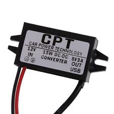 UN3F DC8V-22V to 5V Converter 1USB 15W Car Led Display Power Supply Module
