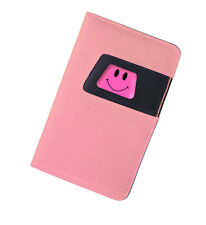 Deluxe Pink Smiley Golf Scorecard Holder Gift or Society Prize