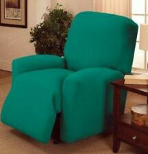 "ON SALE !!!     JERSEY RECLINER COVER----LAZY BOY------AQUA-----""WASHABLE""--"