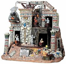 Lemax 94959 DOOMED TEMPLE Spooky Town Building Animated Halloween Decor Egypt I