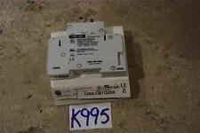 ALLEN BRADLEY MANUAL MOTOR CONTROLLER 1492-CB1G200 SER C STOCK#K995