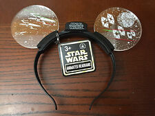 Disney Animate Star Wars Light Up Headband Mickey Ears - NEW - SOLD OUT AT PARK