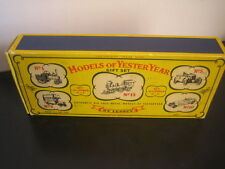 Matchbox Lesney Models Of Yesteryear GIFT SET G-6 SERIES 1