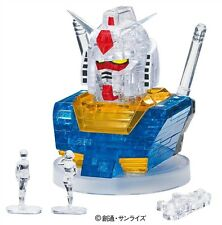 Crystal Puzzle Gundam RX-78-2 (3D Metal Build Composite Transformers)