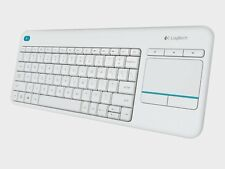 Logitech K400 Plus TASTATUR  RF Wireless QWERTZ Deutsch Kabellos USB - WEISS