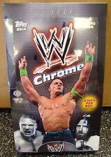 2014 Topps Chrome WWE Wrestling Factory Sealed Hobby Box