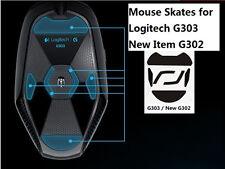 Gaming Mouse Feet Mouse skates For Logitech G303 NEW G302 -3M Teflon 0.6mm