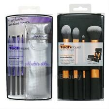 REAL TECHNIQUES Makeup Brush 2 Sets - Eyelining Set, Core Collection *AUTHENTIC*