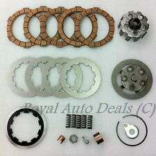 LAMBRETTA 5 PLATES CLUTCH KIT HOUSING,FLANGES,PLATES,SPRINGS,CORKS, BRAND NEW