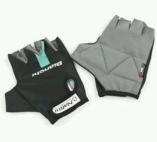 Bianchi reparto corse short finger gloves size xl
