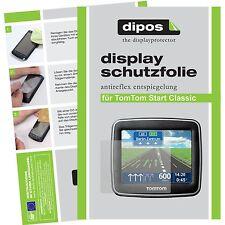 3x TomTom Start Classic Schutzfolie matt Displayschutzfolie Folie dipos