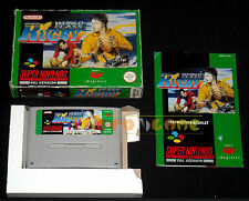 WORLD CLASS RUGBY Super Nintendo Snes Versione PAL Inglese ○○○○○ COMPLETO