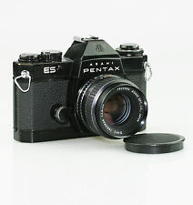 PENTAX ES 35mm SLR Film Camera c.1972 with SMC Takumar f1.8/55mm Lens (FZ108)