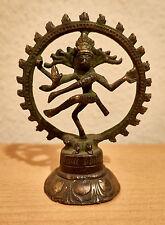 Shiva's kosmischer Tanz,Skulptur,Bronze,patiniert.-Höhe 12,5 cm,Breite 10 cm