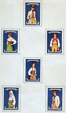 ANTIQUE Vintage MATCHBOX LABEL Match Box Lot / FOLK DRESS / Sweden / #063