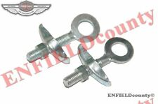 PAIR CHAIN TENSIONER AXLE ADJUSTERS BSA RALEIGH RUDGE HERCULES 10MM HOLE @CAD