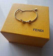 Fendi Crystal wonders bangle bracelet authentic RRP £260