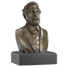 ROBERT E LEE 6 INCH BRONZE RESIN BUST NEW