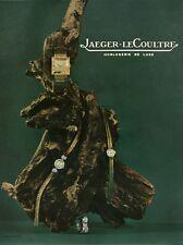 Publicité ancienne bijoux montres Jaeger-Le-Coultre 1959